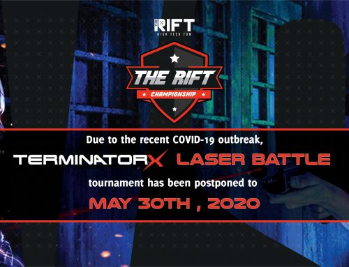Laser Battle tournament – next up in The Rift Championship