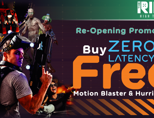 ZERO LATENCY PROMOTION IS NOW BACK!