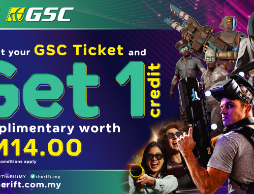 GSC Mid Valley PROMOTION : GET 1 FREE CREDIT ON EVERY GSC MOVIE TICKET