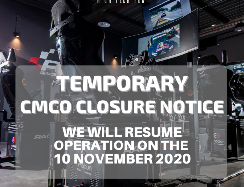 TEMPORARY CMCO CLOSURE NOTICE UNTIL 9TH NOVEMBER 2020